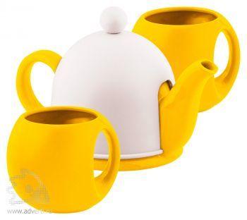 Набор чайный «СлуЧАЙный восторг», желтый