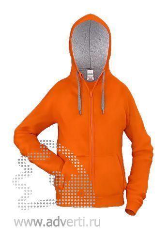 Толстовка «Stan Style Junior», детская, оранжевая с серым