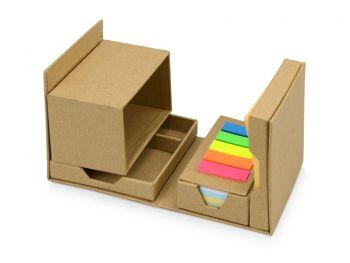Куб настольный для записей «Брик», полусвернутый