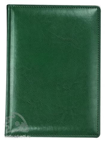 Ежедневник «Nebraska», зеленый