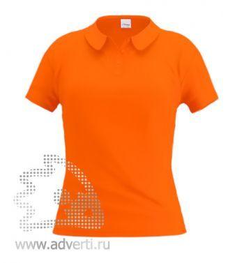 Рубашка поло «Stan Women», женская, оранжевая