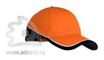 Бейсболка «Stan TwoColors», оранжевая