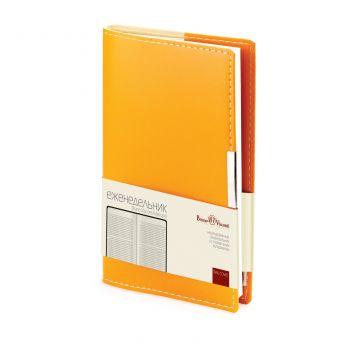 Еженедельники «Metropol», оранжевые