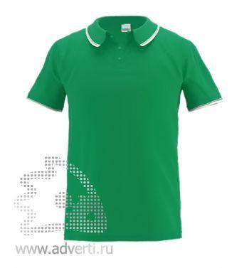 Рубашка поло «Stan Trophy», мужская, зеленая