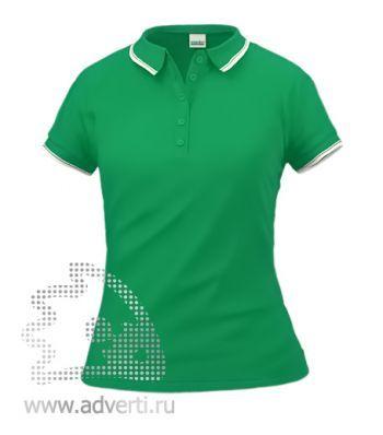 Рубашка поло «Stan Trophy W», женская, зеленая