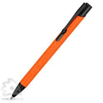 Ручка металлическая шариковая «Crepa», оранжевая
