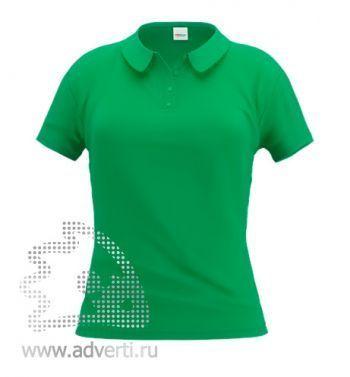 Рубашка поло «Stan Women», женская, зеленая