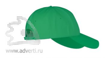 Бейсболка «Stan Classic Jonior», зеленая