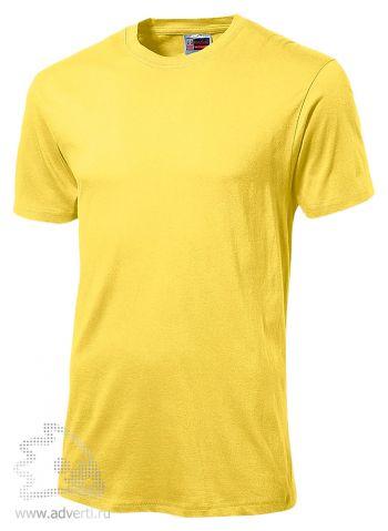 Футболка «Super Club», мужская, светло-желтая