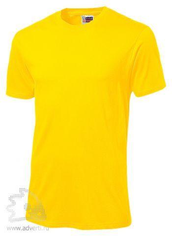 Футболка «Super Club», мужская, желтая