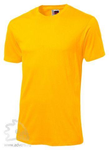 Футболка «Super Club», мужская, ярко-желтая