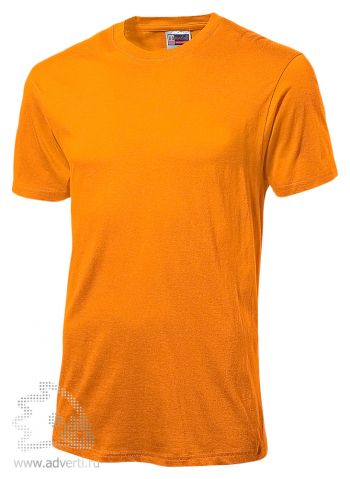 Футболка «Super Club», мужская, оранжевая