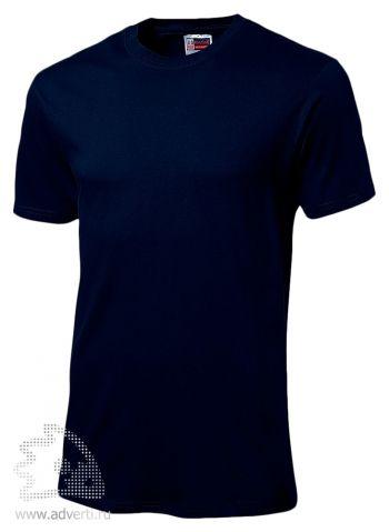 Футболка «Super Club», мужская, темно-синяя