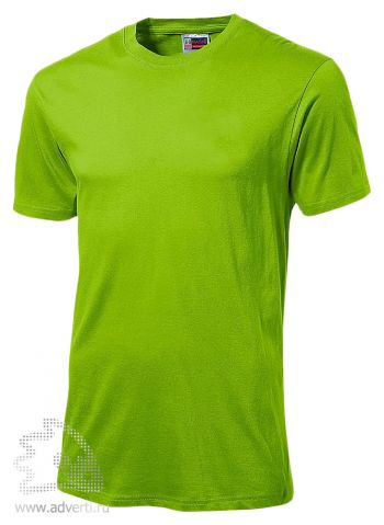 Футболка «Super Club», мужская, светло-зеленая