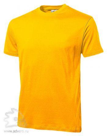 Футболка «Heavy Super Club», мужская, ярко-желтая