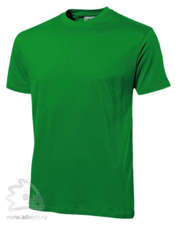 Футболка «Heavy Super Club», мужская, зеленая