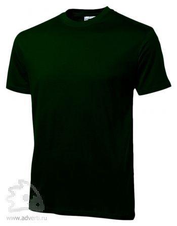 Футболка «Heavy Super Club», мужская, темно-зеленая