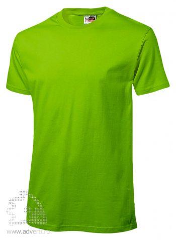 Футболка «Super Heavy Super Club», мужская, светло-зеленая