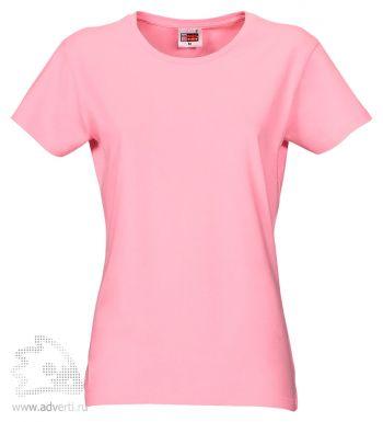 Футболка «Heavy Super Club», женская, светло-розовая