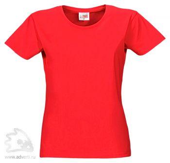 Футболка «Heavy Super Club», женская, красная
