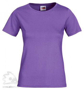Футболка «Heavy Super Club», женская, фиолетовая