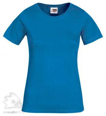 Футболка «Heavy Super Club», женская, синяя
