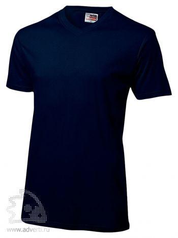 Футболка «Heavy Super Club», мужская, темно-синяя