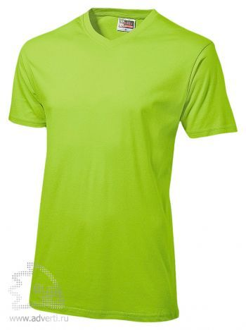 Футболка «Heavy Super Club», мужская, светло-зеленая