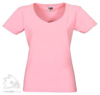 Футболка «Heavy Super Club», женская, розовая