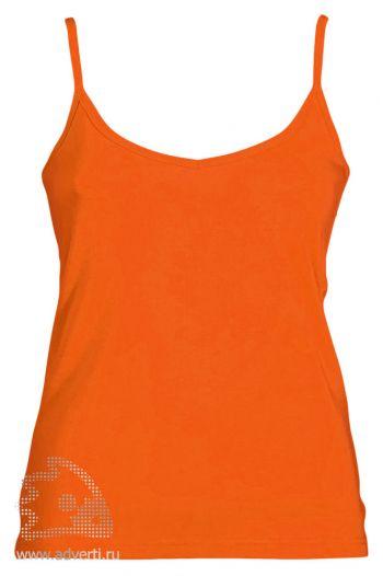 Топ «Liana», женский, оранжевый
