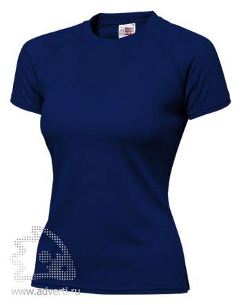 Футболка «Striker Ladies», женская, темно-синяя