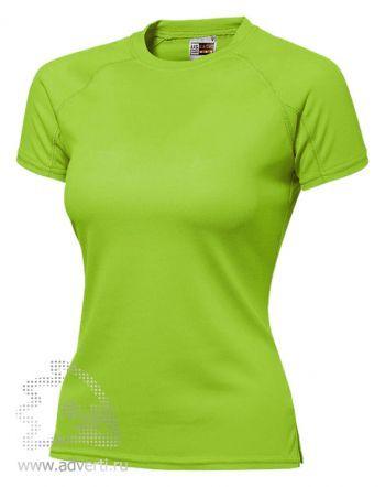 Футболка «Striker Ladies», женская, светло-зеленая