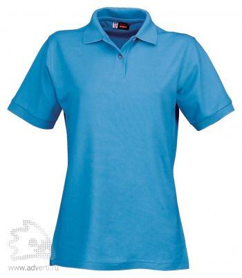 Рубашка поло «Boston», женская, голубая