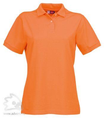 Рубашка поло «Boston», женская, оранжевая