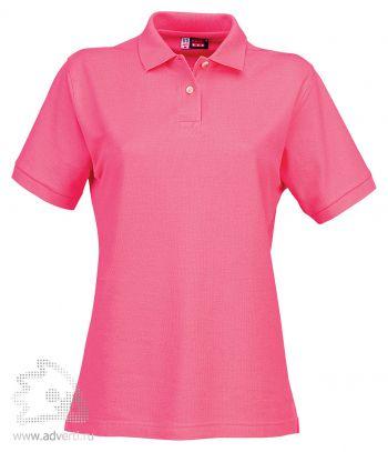 Рубашка поло «Boston», женская, розовая