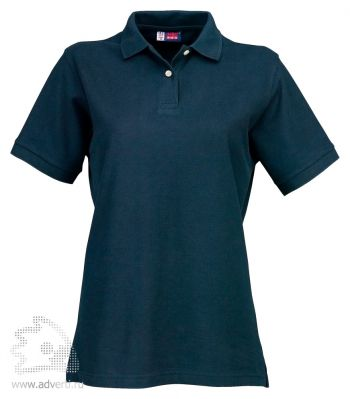 Рубашка поло «Boston», женская, темно-синяя