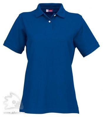 Рубашка поло «Boston», женская, синяя