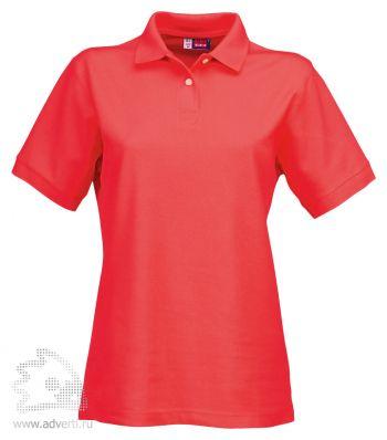 Рубашка поло «Boston», женская, красная
