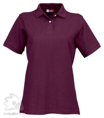 Рубашка поло «Boston», женская, темно-фиолетовая
