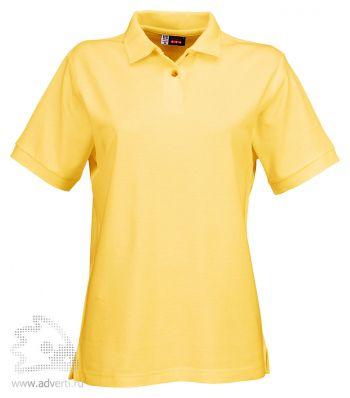 Рубашка поло «Boston», женская, желтая