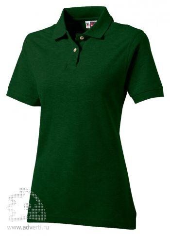 Рубашка поло «Boston», женская, темно-зеленая