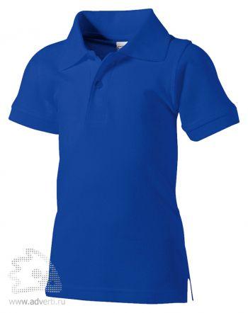 Рубашка поло «Boston», детская, синяя