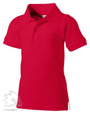 Рубашка поло «Boston», детская, красная