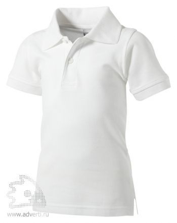 Рубашка поло «Boston», детская, белая