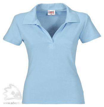 Рубашка поло «Hawaii», женская, голубая