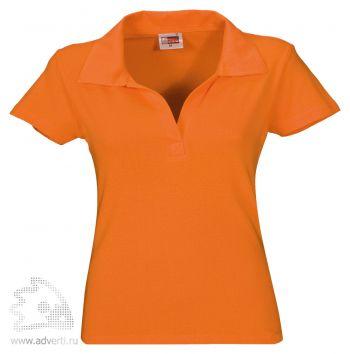 Рубашка поло «Hawaii», женская, оранжевая
