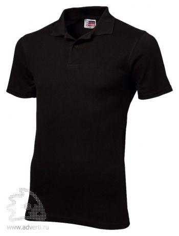 Рубашка поло «First», мужская, черная