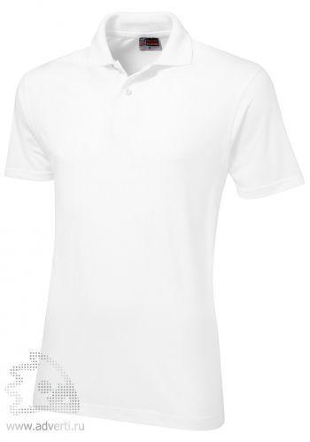 Рубашка поло «First», мужская, белая