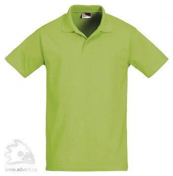 Рубашка поло «First», мужская, светло-зеленая