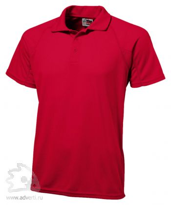 Рубашка поло «Striker», мужская, красная